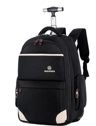 Men Oxford Travel Trolley Bags Wheels Travel Trolley Rolling Backpacks Women Wheeled Backpacks Men  Business Luggage Suitcase