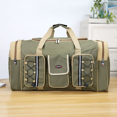 Large Capacity Fashion Men And Women Travel Bag Fashion Casual Oxford Backpack Outdoor Luggage Bag Oxford Zipper Weekend Bag