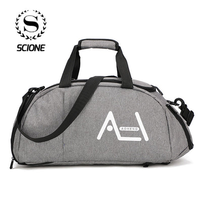 Scione Large Multifunction Travel Sports Handbag Men Women High Quality Crossbody Bags Luggage Suitcase Casual Outdoor Backpack