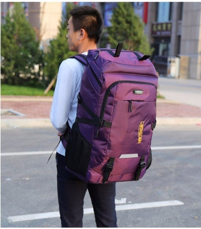 80L Super Large Outdoor Backpack Men Organizer Travel Bags Duffle Big Duffel Weekend Vs Bag Luggage Packing Cubes Bolsa De Viaje