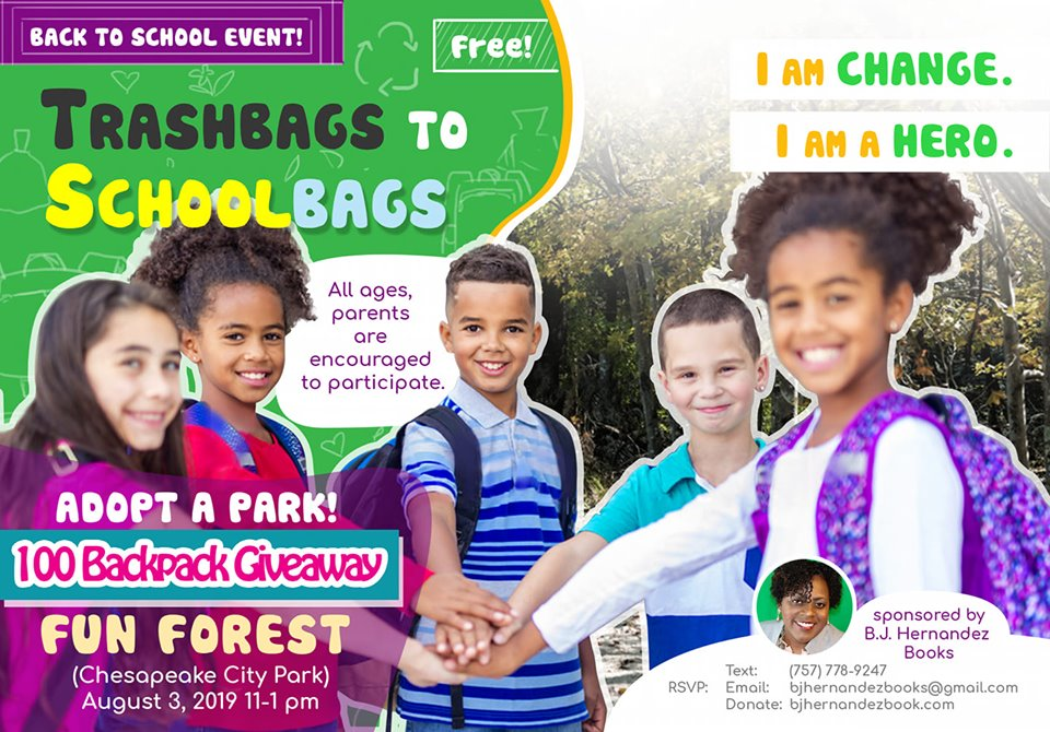 Trashbags to Schoolbags  Donation