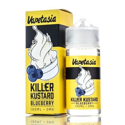 Vapetasia Killer Kustard - Blueberry 100ml