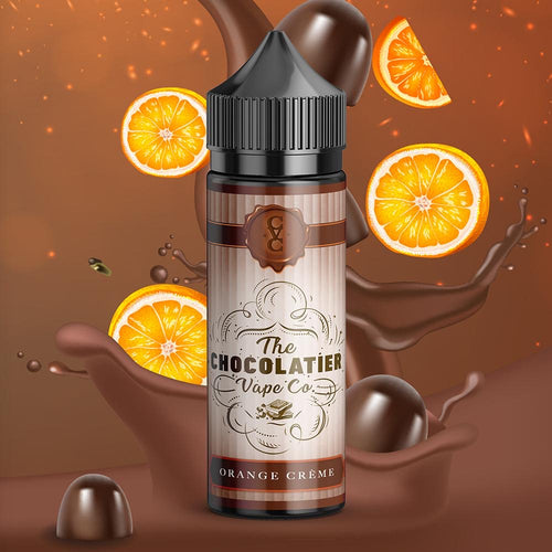The Chocolatier Vape Co - Orange Creme 100ML