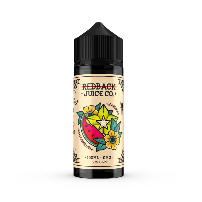 Redback Juice Co. - Starfruit & Watermelon 100ml
