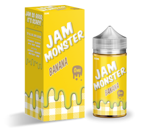 Jam Monster - Banana 10OML