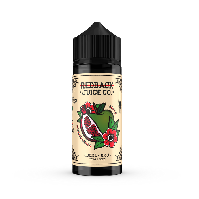 Redback Juice Co. - Apple & Pomegranate 100ml