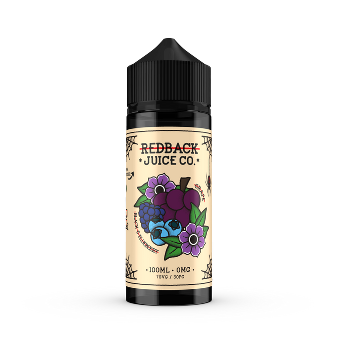 Redback Juice Co. - Grape, Black & Blueberry 100ml