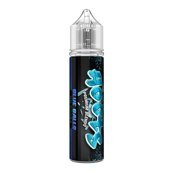 Hoots Premium Blends - Blue Balls on Rocks 60ML