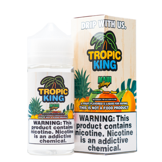 Tropic King - Maui Mango 100ml