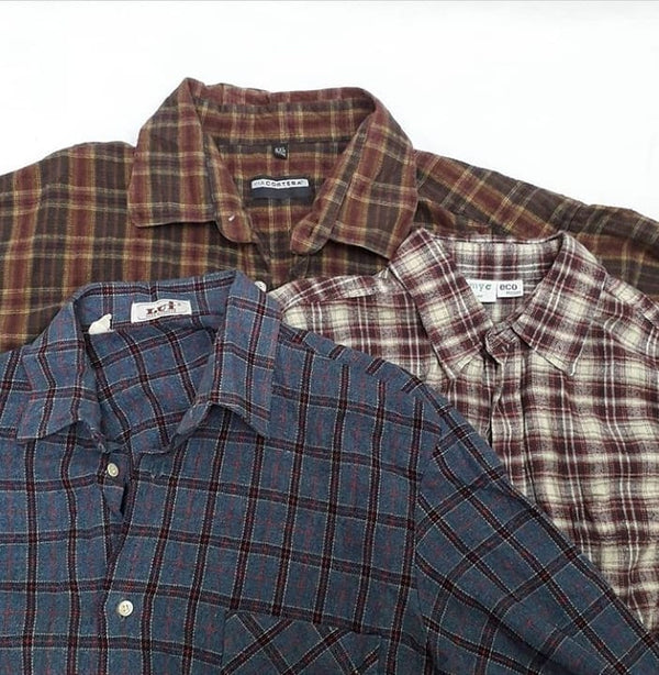Men's Shirts - Flannel Shirts