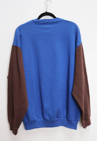 Reworked Colourblock Sweatshirt - XL