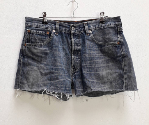 Levi's Blue Denim Shorts - L