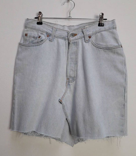 Levi's Denim Mini-Skirt - S