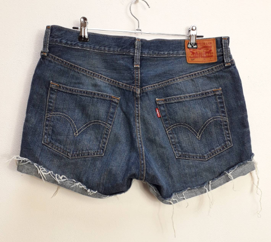 Levi's Blue Denim Shorts - M/L