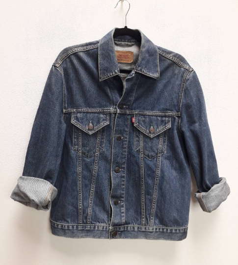Levi's Blue Denim Jacket - M