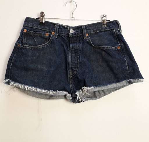 Levi's Blue Denim Shorts - M