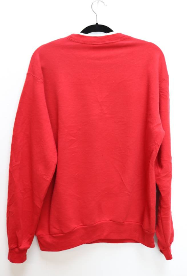 Red Snowflake Sweatshirt - L
