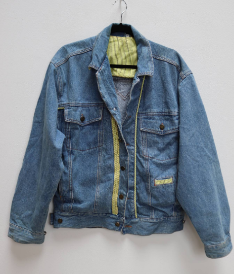 Blue Denim Jacket - L
