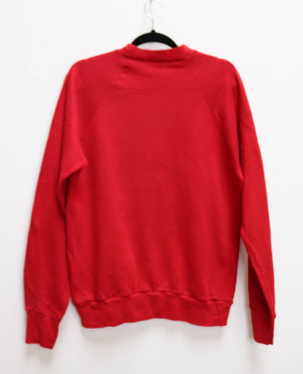 Red Snowflake Sweatshirt - S