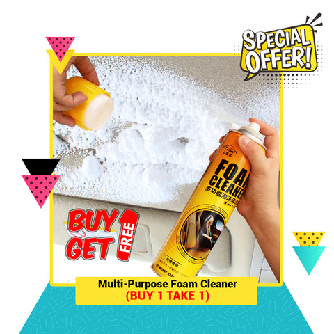 Multi-Purpose Foam Cleaner  BUY 1 GET 1 FREE (CHINESE NEW YEAR SALE)