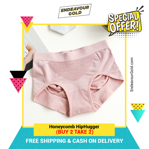 (Buy 2 Take 2 BER-MONTHS PROMO) Honeycomb Hiphugger