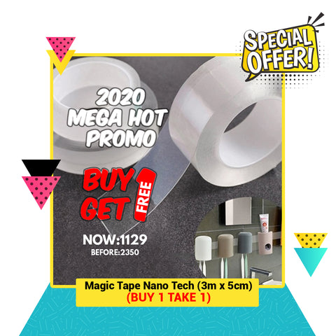 Magic Tape Nano Tech 3M or 5M ( 2020 MEGA HOT SALE! )