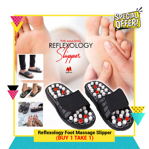 Reflexology Foot Massage Slippers.