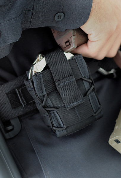 High Speed Gear Belt Mounted Handcuff Pouch