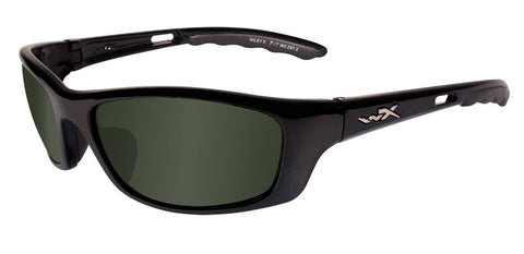 Wiley X Active P-17 Pol Green Lens/Gloss Black Frame