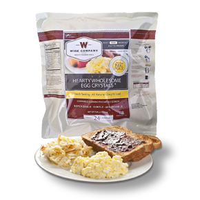 Wise Company Hearty Wholesome Egg Crystals 24 Servings