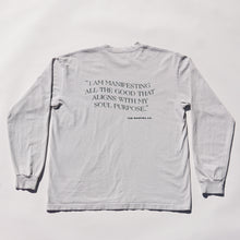 Load image into Gallery viewer, Manifest Long Sleeve (Stone)
