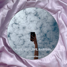 Load image into Gallery viewer, More Self Love, Babygirl Mirror Sticker