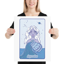 Load image into Gallery viewer, Aquarius Character Poster Print