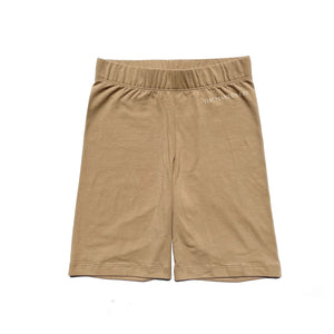 Logo Bike Shorts (Hazelnut)