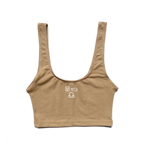 Zodiac Crop Top (Hazelnut)