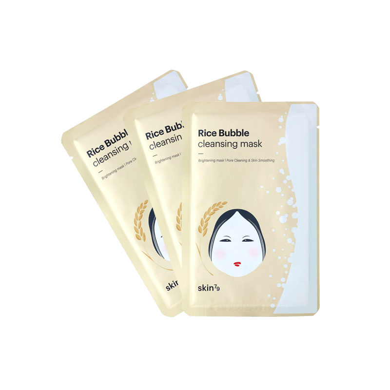 RICE BUBBLE CLEANSING MASK