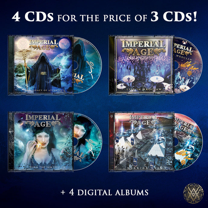 SPECIAL OFFER: 4 CDs + 4 Digital Albums for the price of 3 CDs!