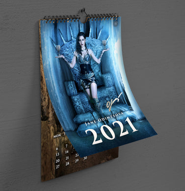 Jane's 2021 PhotoArt Calendar (A3, signed, limited edition)