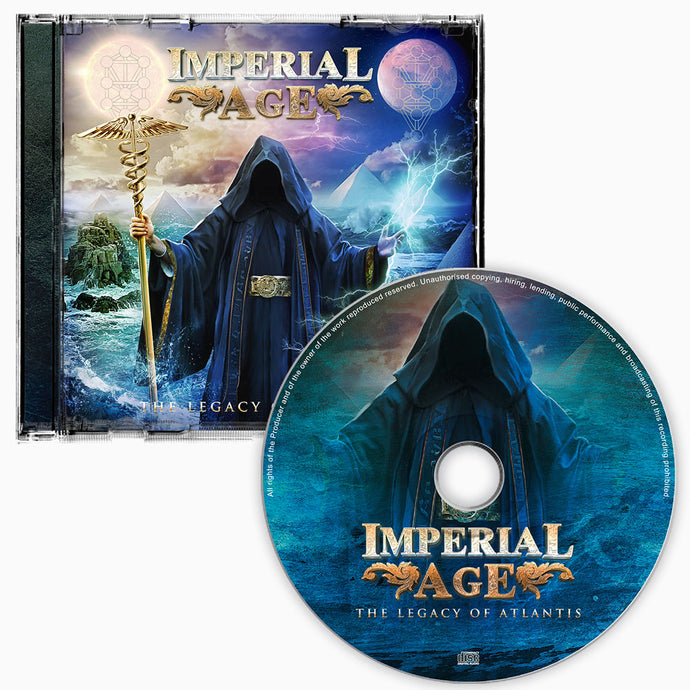The Legacy of Atlantis - CD (signed) + Digital Album
