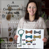 Curious Conversation #1: Hannah McDonald, Illustrator
