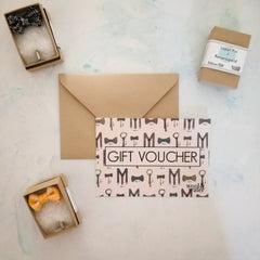 Lapel Pin Gift Voucher