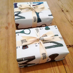 Wool & Water Gift Wrap