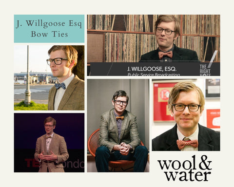 J Willgoose Esq and Wool & Water Bow Ties