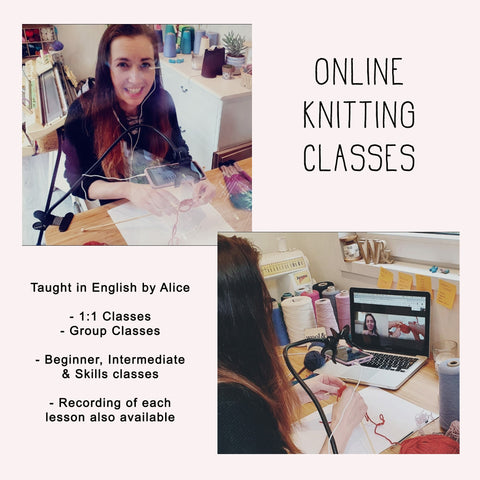Online Knitting Classes