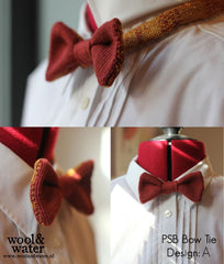 PSB Wool & Water Bow Tie