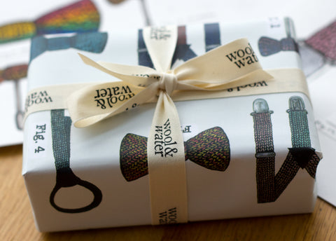 Wool & Water Wrapping Paper