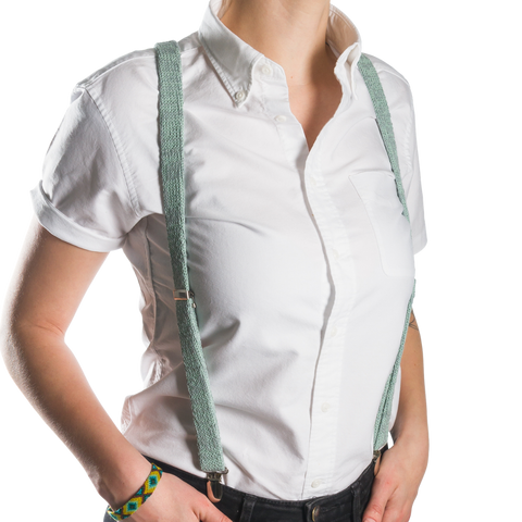 Green Suspenders / Bretels