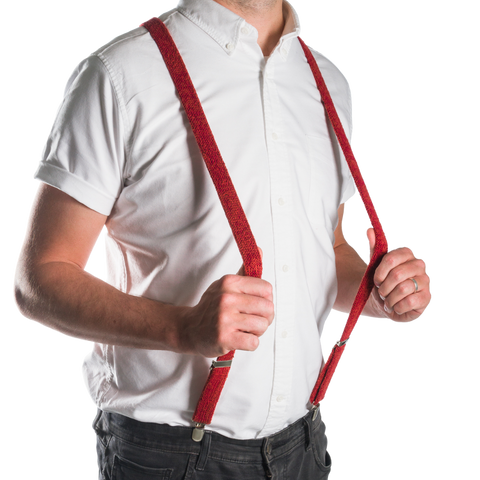 Red Suspenders / Bretels
