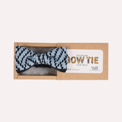 Blue Patterned Bow Tie (The Bentley)