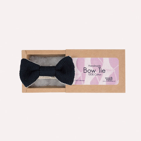 Bow Tie: Black & White Two Tone